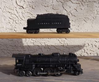 Lionel 2037 Steam Engine Tender