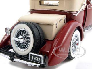 1933 Duesenberg Model J Victoria 1 24 Franklin Mint