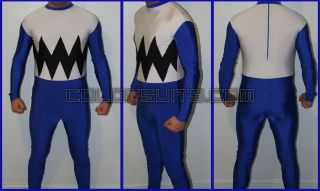 Lost Galaxy Power Rangers Blue Power Ranger Costume Suit