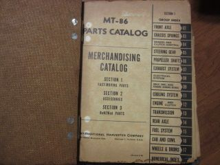 International Truck Accessories Fast Moving Parts Merchandising Manual