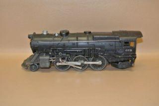 Vintage Lionel 675 2 6 2 O Gauge Steam Locomotive Engine Black USA 8 12819