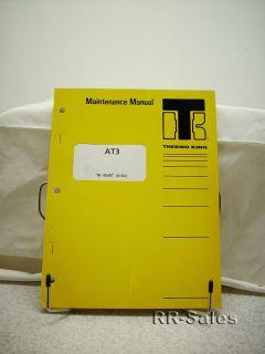 Thermo King Bus Air Conditioning AT3 Maintenance Manual