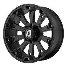 "XD Misfit 18"" Wheels w 33 12 50 18 Toyo Tires"