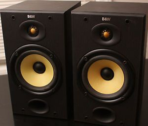 2 DM601 S1 Bowers Wilkins Bookshelf Speakers DM 601