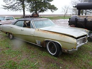1968 Buick Wildcat 430 V8 Auto Parts Project Demolition Derby Car 442 Rat Rod