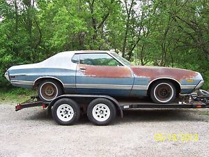 1972 Ford Gran Torino 2 Dr HDTP Parts Car Ranchero Parts 302 V 8 PS A C Sun x GT