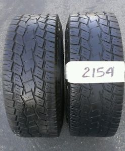 Two Toyo Open Country Tires 33 12 50 15