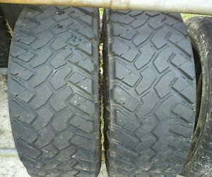 2 295 70R18 Nitto Trail Grappler Tires 295 70 18 Toyo M T Mud MT 35x12 50R18 35