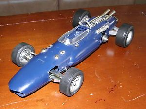Vintage Cox Gurney Eagle Indy Tether Car with Cox Thimble Drome Gas Engine