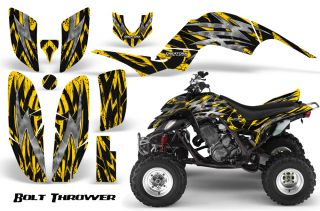 Yamaha Raptor 660 Graphics Kit Decals Stickers BTY