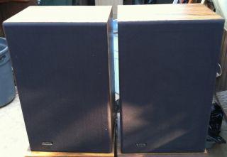 Infinity RS7 Bookshelf Speakers Brown