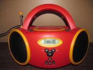Disney Mickey Mouse DB3000 C CD Boombox Am FM Radio Cassette Player Music Lot