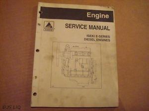 Agco Iseki E Series Diesel Engine Service Manual RD703