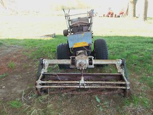Gravely Walk Behind Tractor with Reel Mower