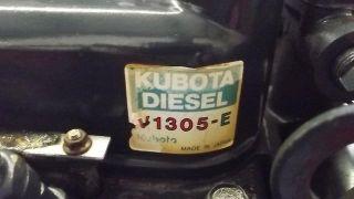 Kubota V1305 E 4 Cylinder Diesel Engine Super 5 Series