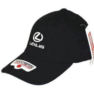 "Hat Lexus ""Tech Stretch"" Embroidered Ball Cap Black"