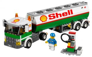 Lego City Tank Truck 3180 Custom Shell Stickers 7939