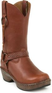 Durango Dream Brown Harness Western Leather RD3863 Cowgirl Boots 7 5M