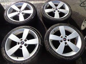 "04 05 06 Pontiac GTO 18"" Silver Wheels Rims Tires Falken GM 235 40 18"