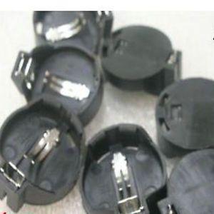 1pcs 20mm Button Coin Cell Battery Socket Holder Case CR2032 CR2025 Panel Mount