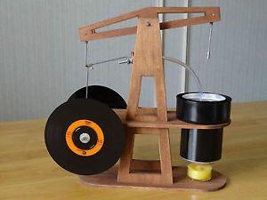 New Walking Beam Stirling Engine USA Made Dual Flywheel Hot Air Steam Handmade
