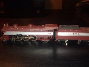 L N Steam Engine Model Train HO Scale Runs Great
