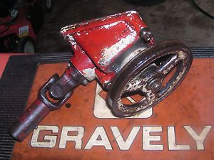"Gravely 40"" 50"" Mower Right Angle Gear Drive Assembly Fits 400 Series Mowers"