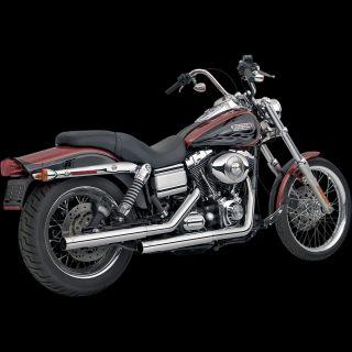 Vance Hines Straightshot Slip Ons Harley Davidson 91 13 Dyna