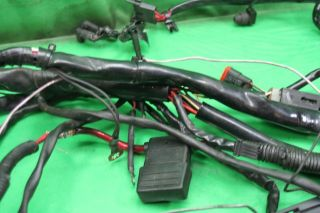 2005 Harley Davidson FX Dyna Main Wiring Harness FXD FXDWG