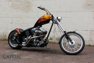 Low Mile 2004 Chopper Gorgeous Paint s s Pro Street Hardtail Bobber Harley Soft