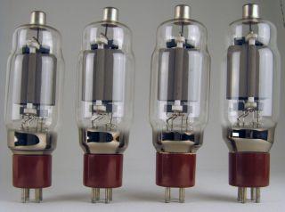 Factory New Matched Quad 572B Ham Radio Amplifier Tube on Sale