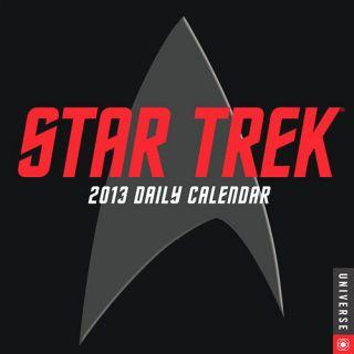 Star Trek Stardate 2013 Daily Desk Calendar All TV Series Films New SEALED