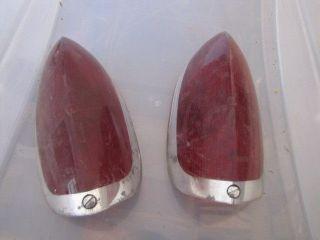 Vintage Rear Tail Light Lenses for Micro Bubble Car Bosch Hot Rat Rod Custom