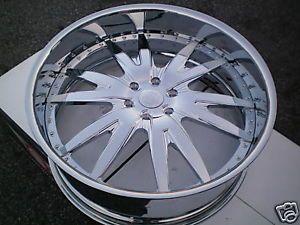 "26"" E Forged Wheels Tires Escalade Chevy Asanti"