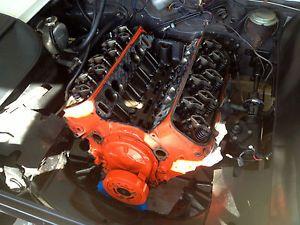 396 Chevy Big Block Engine 1967 Chevelle