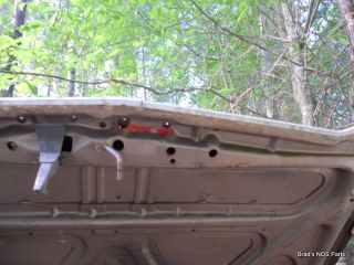 Genuine Mopar 1967 69 Dodge Dart Hood Panel