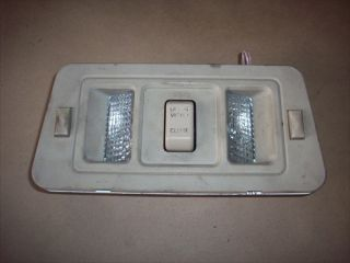 1994 1995 Saturn SL2 Sunroof Switch Dome Light