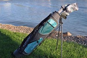 Acuity Catalyst Lady Golf Clubs w Stand Up Carrying Caddy Bag Golf Club Set