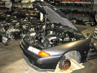Front Clip JDM Nissan Skyline GTR R32 RB26DETT Engine