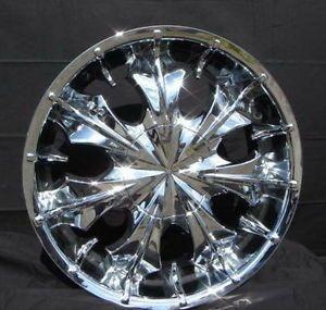 U2 75 Nitto NT 420s 24 inch Rims Tires