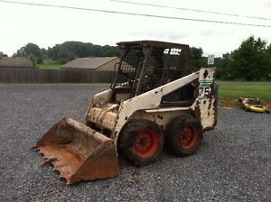 Bobcat 751 Skid Steer Loader w Kubota Diesel Engine