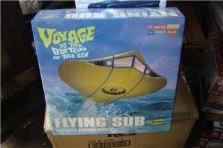 Moebius Flying Sub Plastic Model Kit