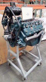 Antique 1936 Ford Flathead V 8 Engine Motor Transmission Stand