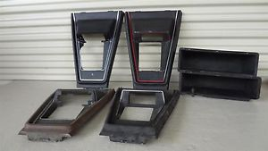 1971 1973 Mustang Console Shifter Trim Ford Glove Box Parts 71 72 73 D1ZZ