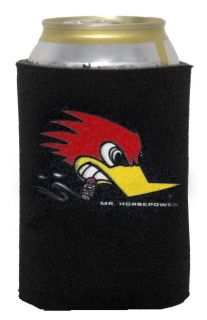 Clay Smith Mr Horsepower Can Cozy Cooler Rat Hot Rod VLV Drink Beer Soda Travel