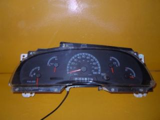 99 Ford F150 F250 Speedometer Instrument Cluster Dash Panel 117 751