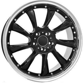 18 inch Mercedes Benz Wheels Rims Black Custom Aftermarket