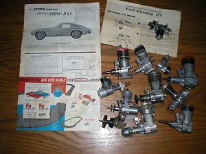 1950s 1960s K B McCoy Cox Wen Mac Ohlsson Rice Engine Lot Plus Original