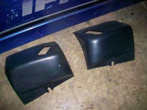 89 92 Camaro Firebird Black Seat Belt Guides Trim 91 TPI 90 Trans Am TA IROC Z