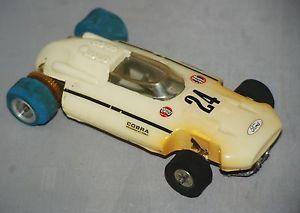 Ford Racing Cobra Open Wheel Slot Car Original 1960s Vintage Toy Slot Car